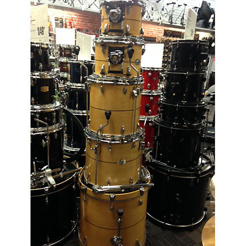 In Store Used Used Medicine Man 5 piece Maple Natural Drum Kit