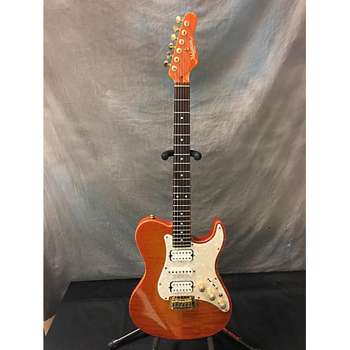 In Store Used Used Melancon Classic Artist T Flamed Maple Trans Orange Solid Body Electric Guitar