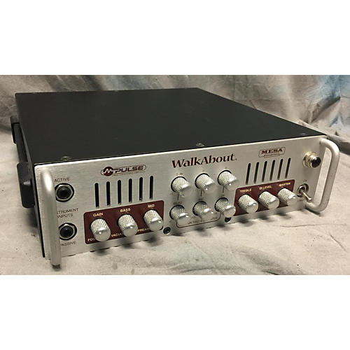 In Store Used Used Mesa Engineering M-pulse Tube Bass Amp Head