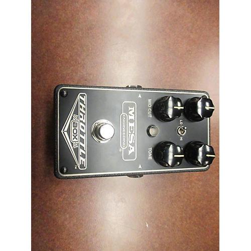 In Store Used Used Mesa Engineering Throttle Box Effect Pedal-thumbnail