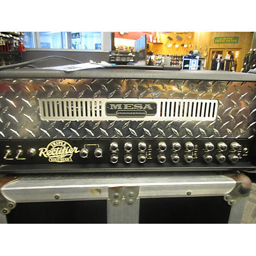 In Store Used Used Mesa Triple Rectifier Solo Head 150 Tube Guitar Amp Head-thumbnail