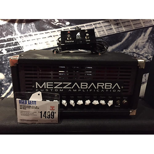 In Store Used Used Mezzabarba Skill 30 2Ch Guitar Head Tube Guitar Amp Head