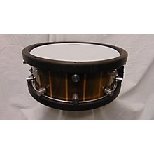 Used Mike Wells 5.5X14 Oak Stave Snare Drum Stave