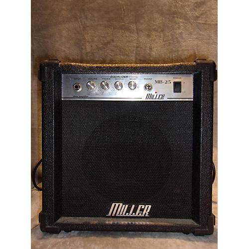 In Store Used Used Miller MB-25 Bass Combo Amp