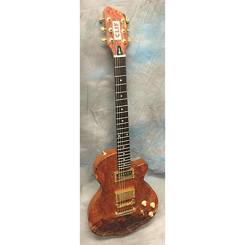In Store Used Used Moniker Clif Brown Solid Body Electric Guitar-thumbnail