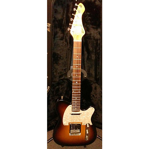 In Store Used Used Moniker Dixie 3 Tone Sunburst Solid Body Electric Guitar