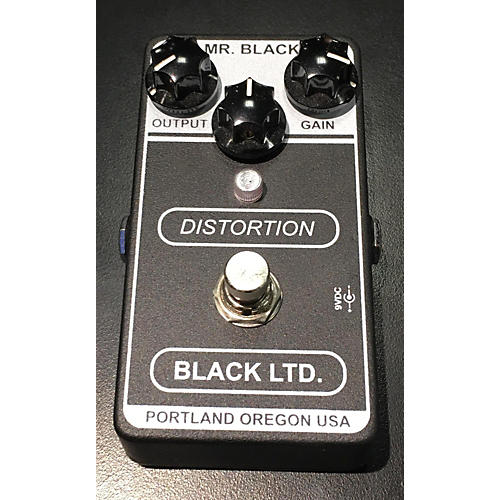 In Store Used Used Mr Black Black LTD Distortion Effect Pedal
