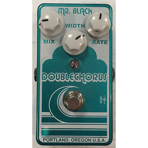 In Store Used Used Mr Black Double Chrorus Effect Pedal