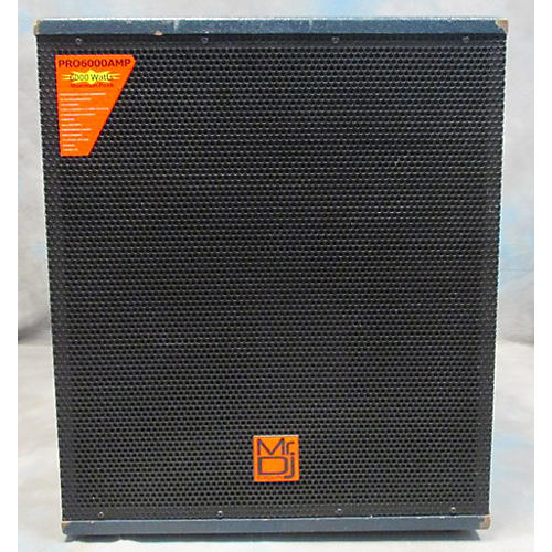 In Store Used Used Mr Dj Usa Pro6000amp Powered Subwoofer