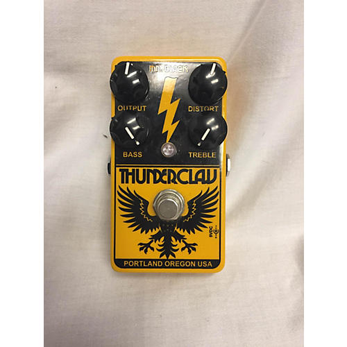 In Store Used Used Mr. Black Thunderclaw Effect Pedal