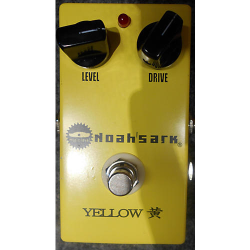In Store Used Used Music Level Noah's Ark Yellow Effect Pedal-thumbnail