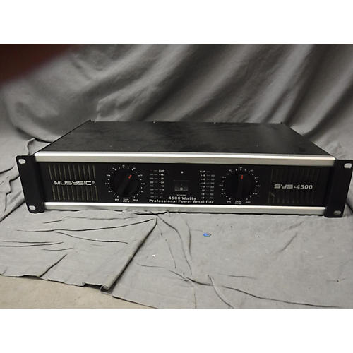 In Store Used Used Musysic SYS4500 Power Amp-thumbnail