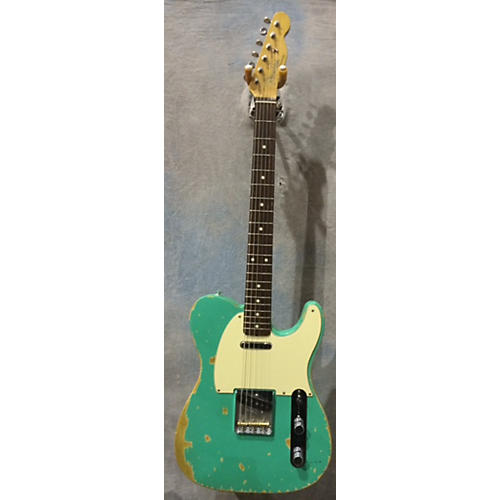 In Store Used Used NA PARTS GUITAR T-STYLE MIJ TELE Seafoam Green Solid Body Electric Guitar