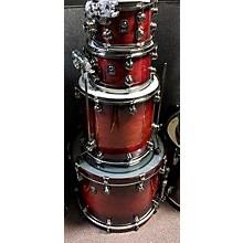 Used NATAL 4 piece FUSION WALNUT Drum Kit