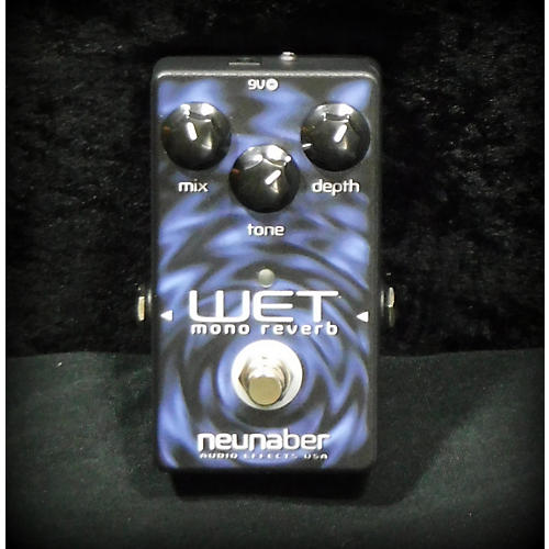 In Store Used Used NEUNABER WET MONO VERB V4 Effect Pedal-thumbnail