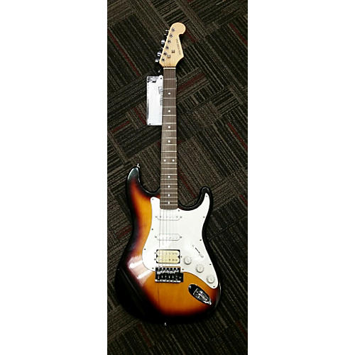 In Store Used Used NEW YORK PRO Double Cut 3 Tone Sunburst Solid Body Electric Guitar