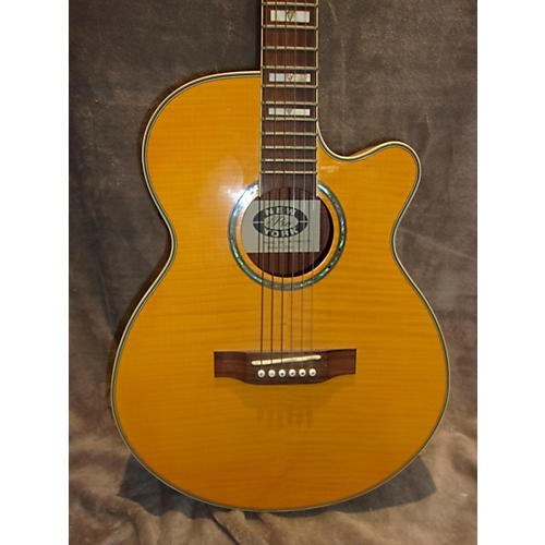 In Store Used Used NEW YORK PRO NY Trans Amber Acoustic Electric Guitar