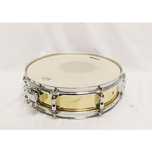 In Store Used Used NO BRAND 3X14 Brass Snare Drum Drum Brass