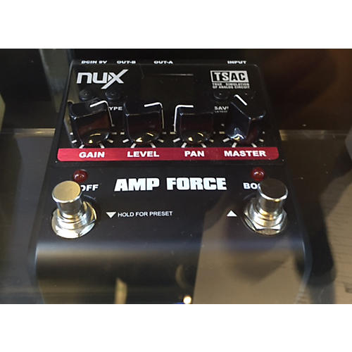 In Store Used Used NUX AMP FORCE Pedal
