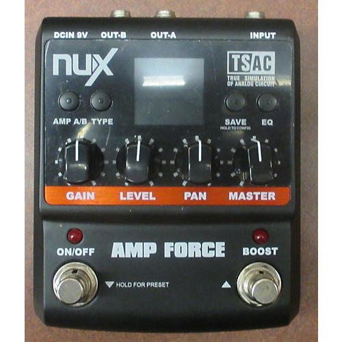 In Store Used Used NUX AMP FORCE TSAC Effect Pedal-thumbnail