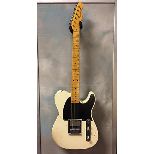 In Store Used Used Nash 2012 E57 White Solid Body Electric Guitar-thumbnail