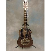 Used National Resophonic Style 1 Tricone Nickel Plated B Resonator Guitar