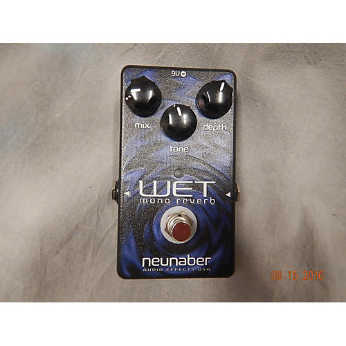 In Store Used Used Neunaber Wet Mono Reverb Effect Pedal