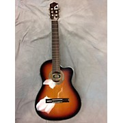 Used New York Pro DRC970EQ/SB 3 Tone Sunburst Classical Acoustic Electric Guitar