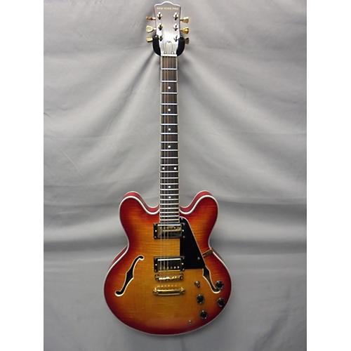In Store Used Used New York Pro Double Cutaway Cherry Sunburst Hollow Body Electric Guitar Cherry Sunburst