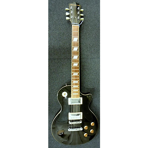 used new york pro single cutaway black solid body electric guitar guitar center. Black Bedroom Furniture Sets. Home Design Ideas