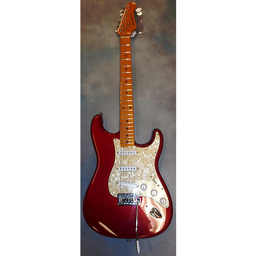 In Store Used Used New York Pro Stratocaster Candy Apple Red Solid Body Electric Guitar-thumbnail