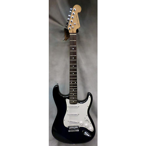 In Store Used Used New York Pro Trans Blue Solid Body Electric Guitar-thumbnail
