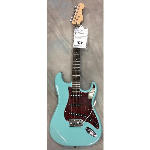 In Store Used Used No Brand Double Cutaway Blue Solid Body Electric Guitar