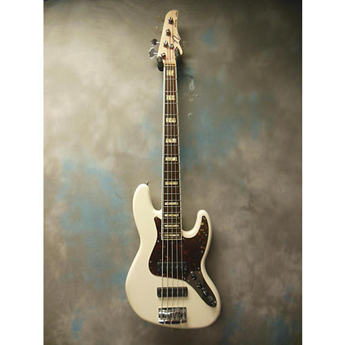 In Store Used Used Nordstrand Nordy VJ5 Vintage White Electric Bass Guitar