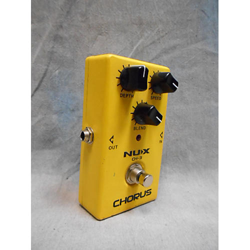 In Store Used Used Nux Ch-3 Effect Pedal
