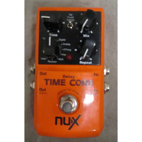In Store Used Used Nux Time Core Effect Pedal-thumbnail