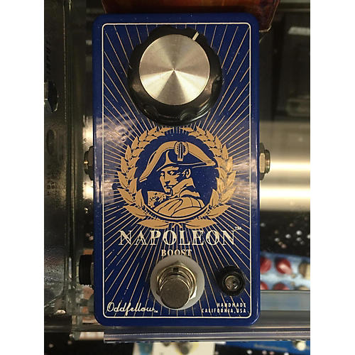 In Store Used Used ODDFELLOW EFFECTS NAPOLEON BOOST Effect Pedal