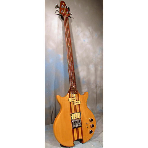 In Store Used Used OHAGEN MASTERBUILT FRETLESS BASS Natural Solid Body Electric Guitar