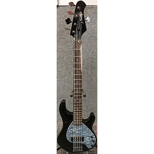 In Store Used Used OIP ERNIE BALL MM3 Black Electric Bass Guitar Black