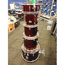 Used OSP Percussion 5 piece Basic Wine Red Drum Kit