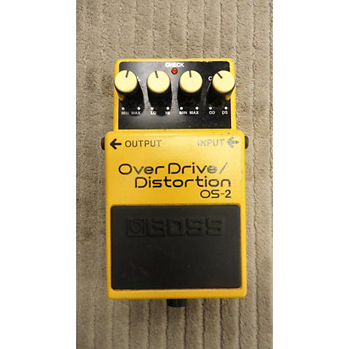 In Store Used Used OVER DRIVE DISTORTION BOSS Effect Pedal