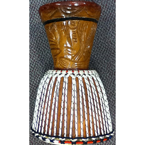 In Store Used Used OVERSEAS 10in HANDCARVED Djembe