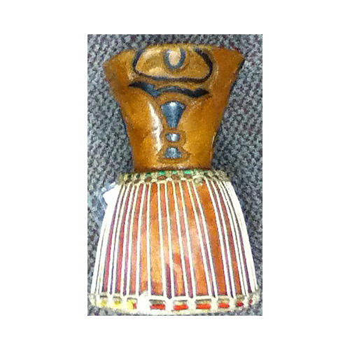 In Store Used Used OVERSEAS 6in HANDCARVED Djembe