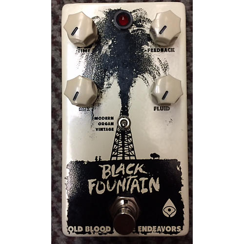 In Store Used Used Old Blood Noise Endeavors 2010s Black Fountain Delay Effect Pedal