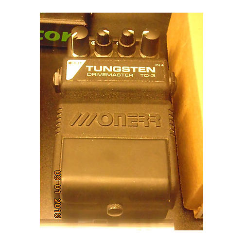 In Store Used Used Onerr Tungsten TO3 Overdrive Effect Pedal-thumbnail