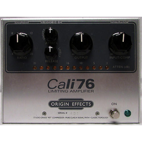 In Store Used Used Origin Effects Cali76 Effect Pedal