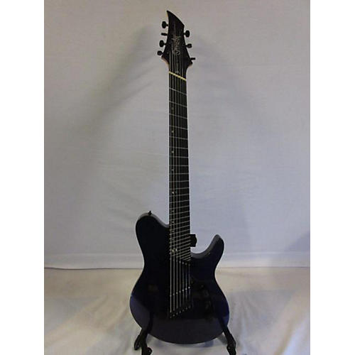 In Store Used Used Ormsby TX7 Carbon 7 String Purple Solid Body Electric Guitar