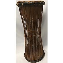 Used Overseas Talking Drum Hand Drum