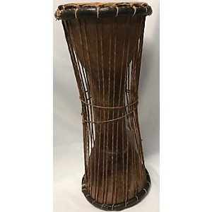 Pre-owned Pre-owned Overseas Talking Drum Hand Drum by