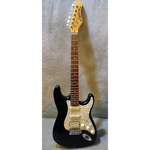 In Store Used Used PALMER DELUXE ELITE Metallic Black Solid Body Electric Guitar